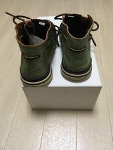 visvim HURON MOC-FOLK DK.BROWN US8 sneaker boots suede shoes  image 3