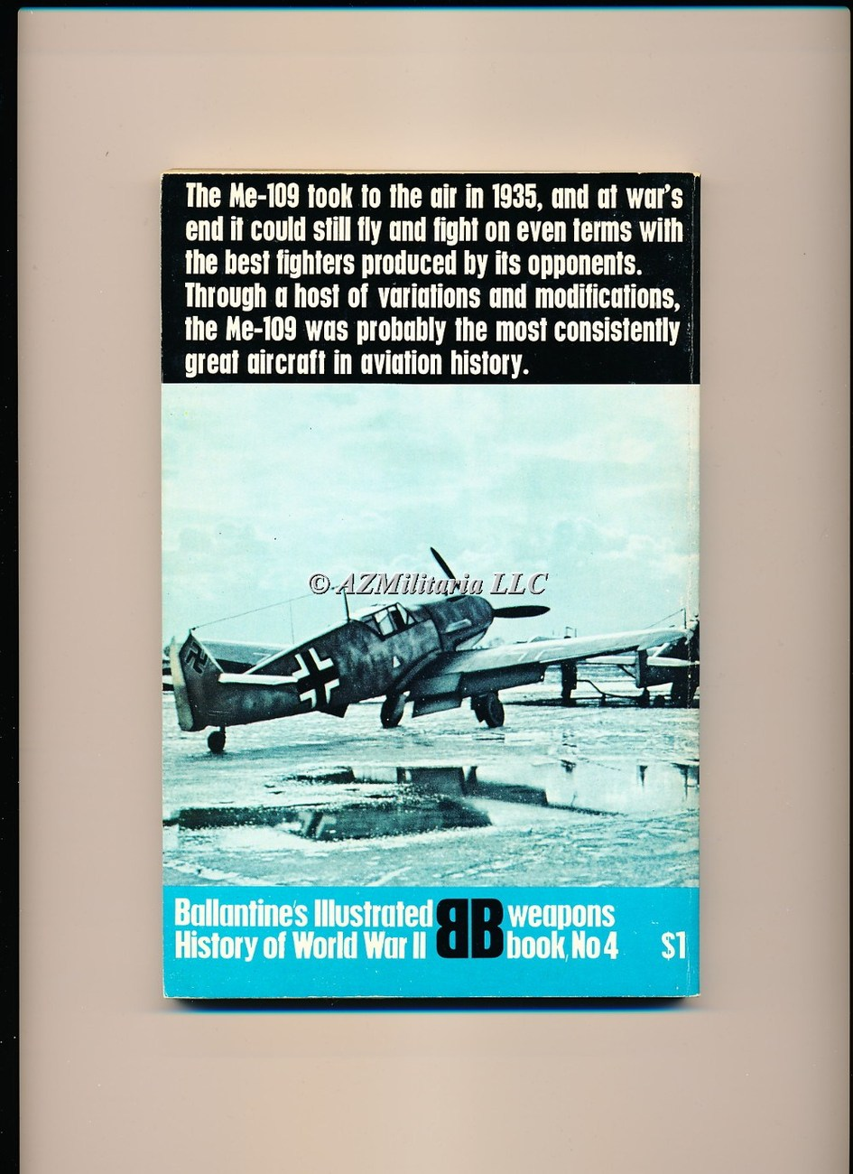 Me 109 (Weapons Book, No 4)