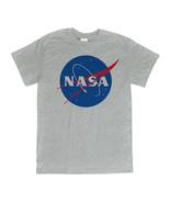 NASA Vector Logo Heather Gray T-Shirt New S-3XL - $10.95 - $14.95