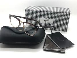 Persol RX Eyeglasses Frames 3196 V 24 51-19-145 Havana Tailoring Edition Italy - $116.37