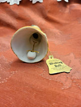Vintage 1978 • Jasco • Angel Wishing Bell • Fine Bisque Porcelain • Handcrafted image 4