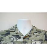 Puritan Walleye-Fishing Lightweight Rayon Hawaiian Shirt, Excellent, Med... - $13.74