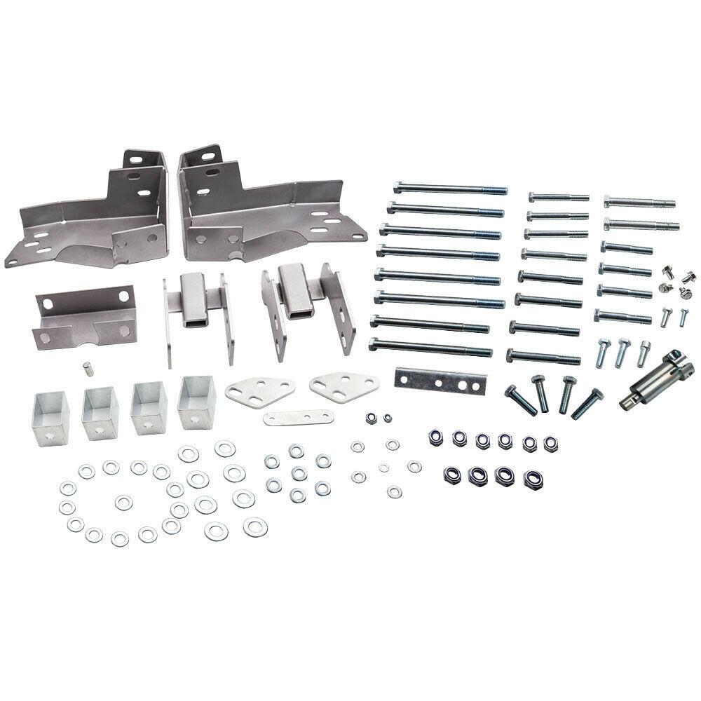 """3"""" Body Lift Kit brackets for Chevrolet Silverado 1500 Base LS Crew 2007-2013 - $377.09"""