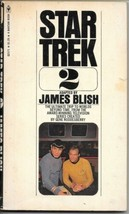 Star Trek 2 Paperback Book James Blish Bantam 1975 VERY GOOD+ - $2.50