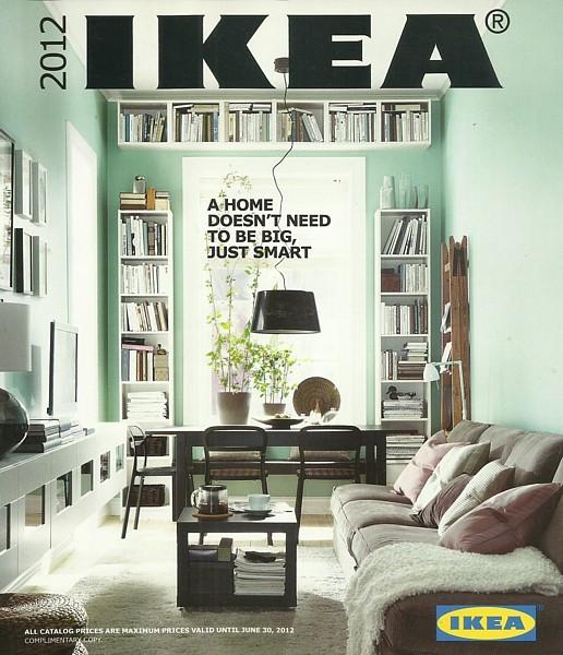 IKEA 2012 home furnishings store catalog magazine