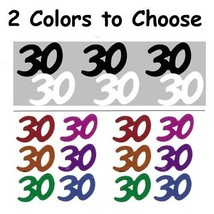 Confetti Number 30 - 2 Colors to Choose 14 gms bag FREE SHIPPING - $3.95+