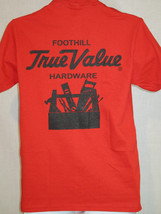 true value hardware store tool art red T Shirt Size small - $19.78