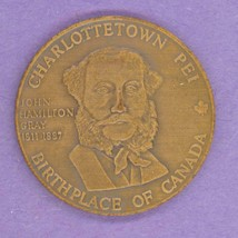 1981 Charlottetown PEI Trade Token or Dollar Province House John Gray AN... - $5.95