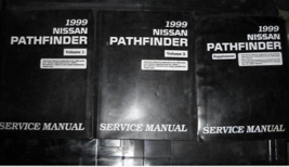 1999 Nissan Pathfinder Servizio Negozio Repair Officina Manuale Set Fabb... - $99.01