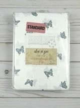 Alex and Zoe Standard Pillowcases Set of 2 Butterflies - $14.99