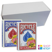 12 DECKS BICYCLE RIDER BACK STRIPPER RED AND BLUE MAGIC TRICKS CARDS SEA... - $113.64