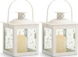2 -Small White Lanterns - $26.64