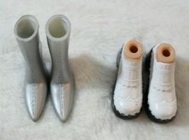 Bratz Barbie Silver Boots & Sneakers Jade Yasmin Sasha Chloe All Bratz D... - $17.81
