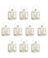 10 -Small White Lanterns - $51.35