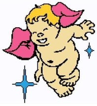 Cherub Crochet Color Graph Afghan Pattern - $4.00