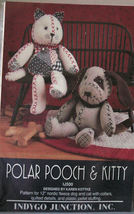 Pattern IJ500 Polar (Fleece) Pooch & Kitty  - $7.50