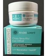 Andre Lorent Crazy Beautiful Eye Creme Wrinkle Repair Anti-Aging Cream 0... - $9.89