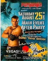 Gabriel Napao Gonzaga After Party Vegas Promo Card - $3.95