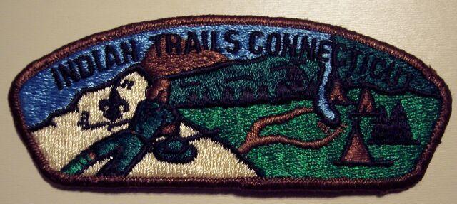 Indian Trails Connecticut CSP Boy Scouts Patch VTG