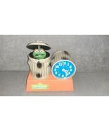 Oscar The Grouch Talking Alarm Clock Sesame Street 1977 Bradley  - $85.00