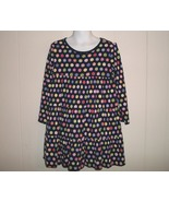Gymboree Candy Shoppe Girls Blue Candy Print Knit Dress 5 - $5.00