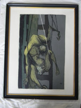 Benton Murdoch Spruance (1904-1967) listed artist . Black Friday. signed... - $2,500.00