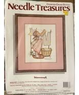 New Needle Treasures Wash Day Hummel Counted Cross Stitch Kit #02633 8x1... - $28.70
