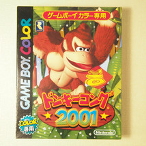 Donkey Kong 2001 Complete in Box (Nintendo Gameboy Color GBC, 2001) Japan image 2