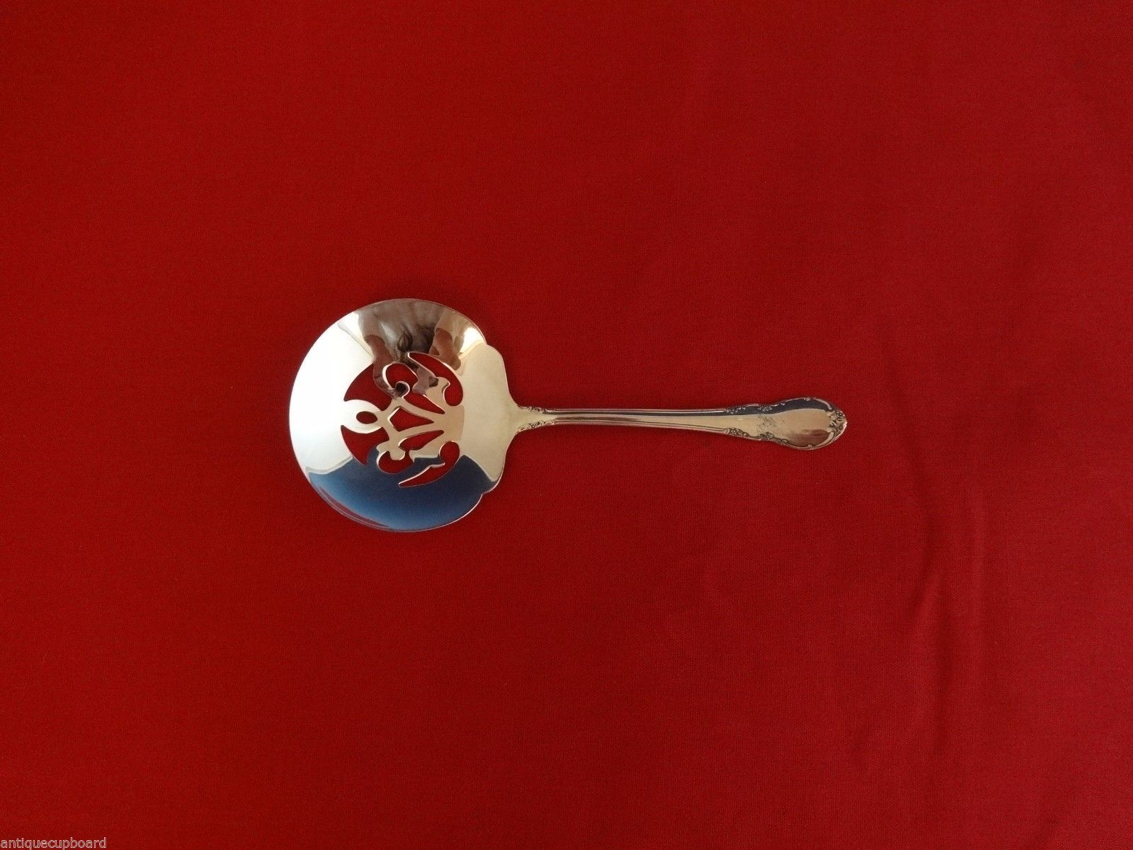 Primary image for Mignonette by Lunt Sterling Silver Nut Spoon Pierced 5""