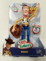 "Disney Pixar Toy Story 4 True Talkers Talking Woody Figure 9.2"" BRAND NEW - $24.99"