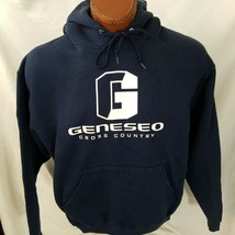 Geneseo Cross Country Knights Blue Sweatshirt Hoodie Super Cotton XL X-L... - $21.53