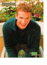Hayden Christensen Nick Carter Backstreet Boys teen magazine pinup clipping M
