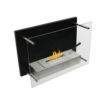 """WOLFIRE® 23"""" Wall Mount Ethanol Fireplace Heater w/Tempered Glass&Ventle... - $249.00"""