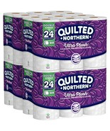 Quilted Northern Ultra Plush Toilet Paper, Pack of 48 Double Rolls Four... - $24.19