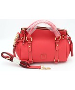 NWT Dooney & Bourke Raleigh Geranium Leather Small Satchel Shoulder Bag ... - $248.00