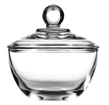 Anchor Hocking Presence Glass Sugar Bowl with Lid - $17.46