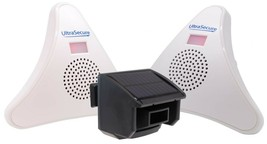 Driveway Alarm with 2 x Wireless Receivers & 1 x Solar Wireless Kit (DA6... - $128.97