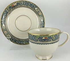 Lenox Autumn Cup & saucer - GOLD MARK  - $20.00