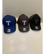 Texas Rangers MLB Adjustable baseball cap hat men different colors and s... - $14.99+