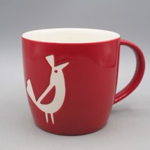 Starbucks Natale 2011 Tazza Rosso con Bianco Pernice Uccello - $12.92