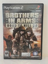 Brothers in Arms: Road to Hill 30 (Sony PlayStation 2, 2005) - PS2 COMPLETE - $9.89