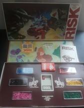 1975 Risk Board Game Parker Bros Vintage Strategy Game 99% Complete 10 t... - $27.08