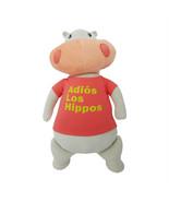 Cute Plush Toy ADIOS LOS HIPPOS Pillowfort HIPPO Decorative Pillow Cute New - $12.10
