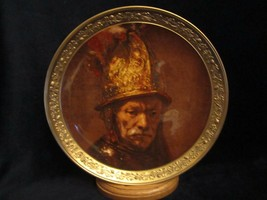 Man With A Gilt Helmet Collector Plate Rembrandt Gallery Of Masters #1 Gorham - $9.99