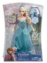 "Disney Frozen Musical Magic Elsa Doll w Music & Lights Movie Figure 11"" - $30.99"