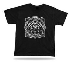 Tshirt Tee Shirt Birthday Gift Idea God Power Hammer Skull Cross Emblam 2013 - $7.57
