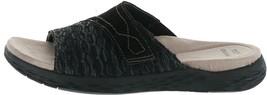 Earth Origins Suede Sandals Westfield Westley Black 7.5W NEW A350377 - $57.40