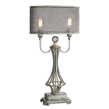 Uttermost Pontoise Aged Ivory Table Lamp - $327.80