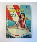 Vintage 1963 Walt Disney's Annette and the Mystery at Smugglers' Cove HB... - $11.99