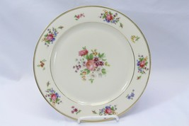 """Bavaria Tirschenreuth Germany The Queens Rose Dinner Plates 10"""" Lot of 7 - $68.59"""